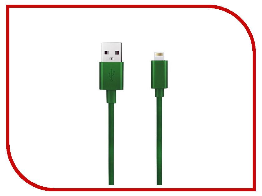 Аксессуар Budi USB - Lightning M8J023 1.2m Green
