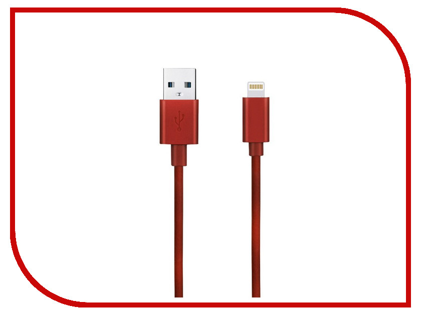 Аксессуар Budi USB - Lightning M8J023 1.2m Red