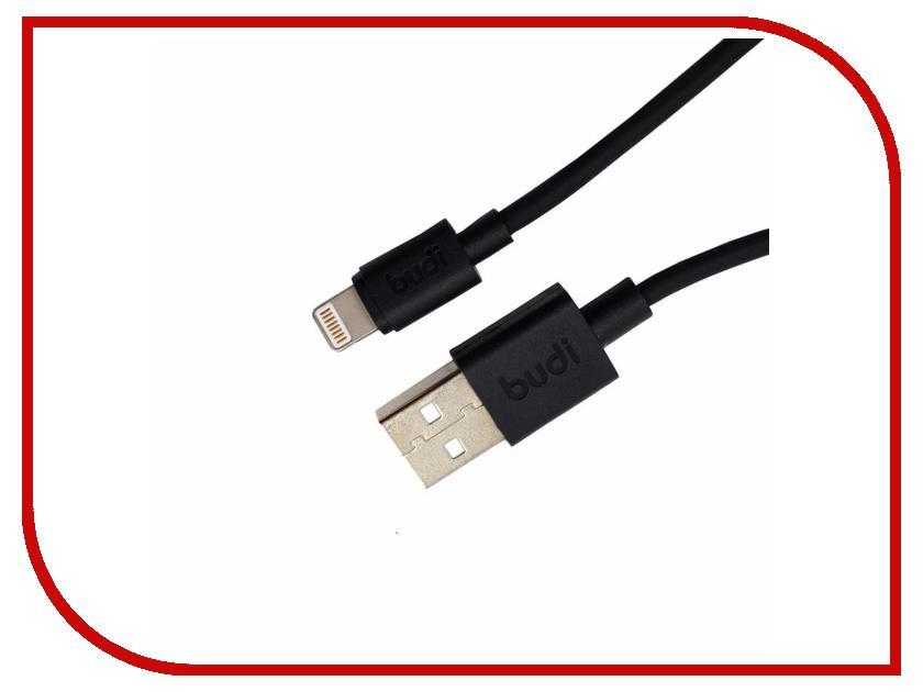 Аксессуар Budi USB - Lightning M8J02304 1.2m Black