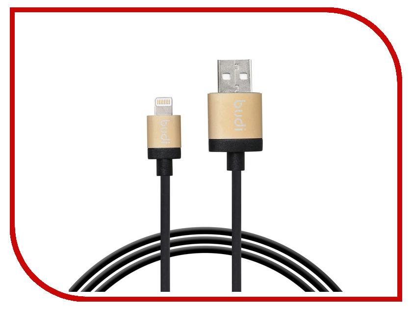 Аксессуар Budi USB - Lightning M8J025 1.2m Black