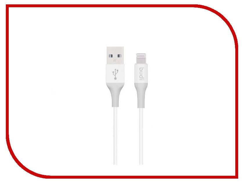 Аксессуар Budi USB - Lightning M8J143 1.2m Silver