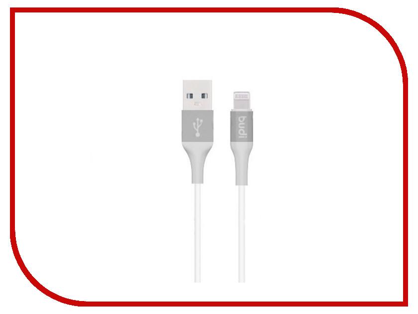 Аксессуар Budi USB - Lightning M8J143 1.2m Gray