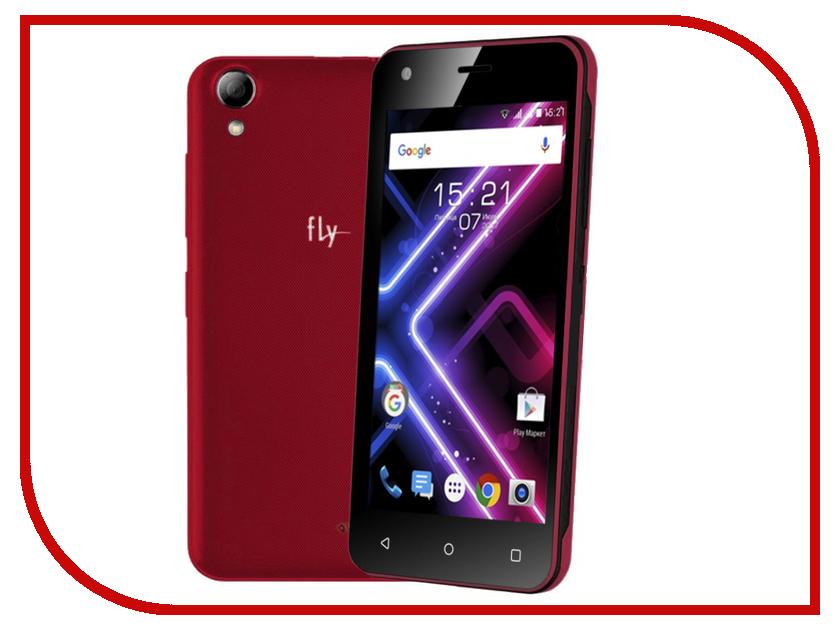 Сотовый телефон Fly FS456 Nimbus 14 Red смартфон fly nimbus 10 fs512 черный