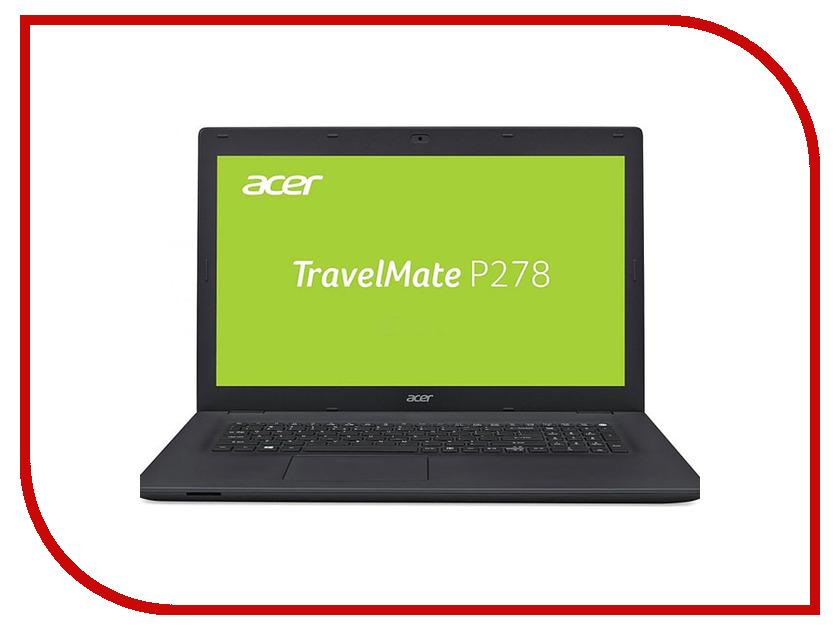 Ноутбук Acer TravelMate TMP278-M-30ZX NX.VBPER.011 (Intel Core i3-6006U 2.0 GHz/4096Mb/500Gb/No ODD/Intel HD Graphics/Wi-Fi/Cam/17.3/1600x900/Windows 10 64-bit) ноутбук acer travelmate tmb118 r c9jg black nx vfzer 001 intel celeron n3350 1 1 ghz 4096mb 32gb ssd no odd wi fi bluetooth cam 11 6 1366x788 windows 10 pro