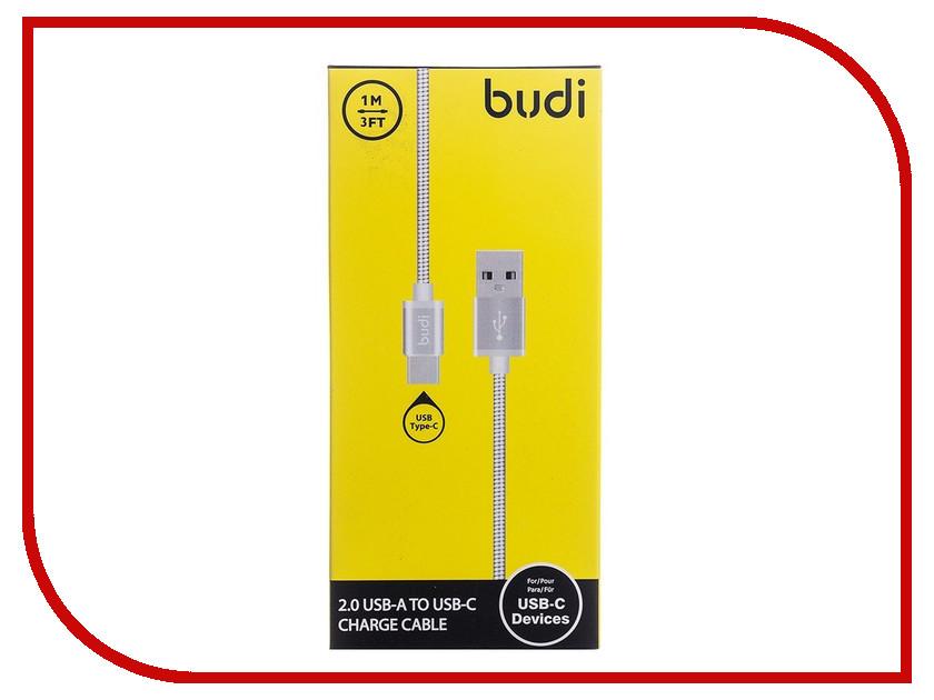 Аксессуар Budi USB - Type-C M8J172T 1m Silver
