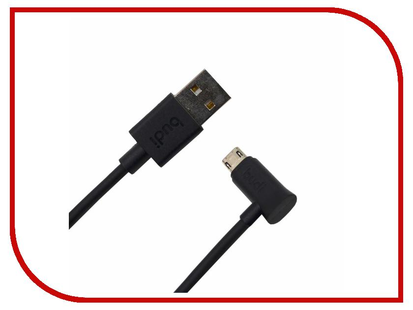 Аксессуар Budi USB - MicroUSB M8J149M 1.2m Black аксессуар budi usb lightning m8j144 1 2m black