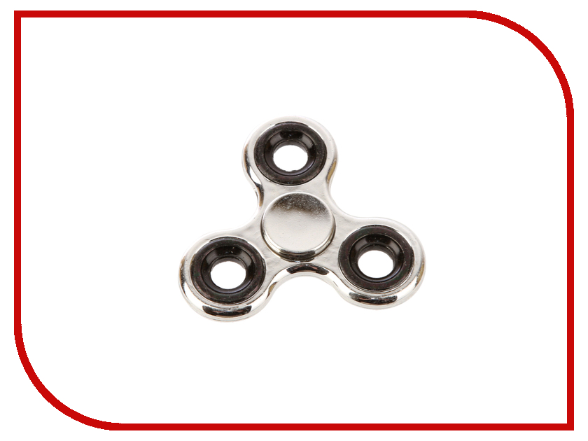 Спиннер Aojiate Toys Finger Spinner Shiny Silver RV559 tri fidget hand spinner triangle metal finger focus toy adhd autism kids adult toys finger spinner toys gags