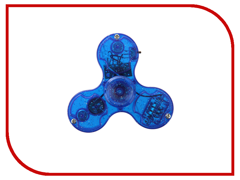 Спиннер Aojiate Toys Finger Spinner Light and Sound Effects Blue RV565