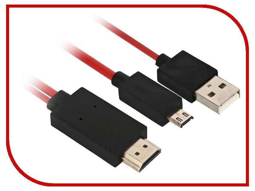 купить Аксессуар Nexport microUSB-HDMI NP-MHL\HM-RBB-1.8 недорого