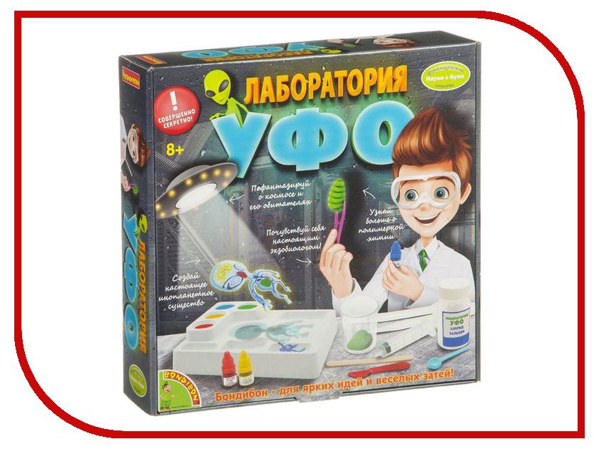 Игра Bondibon Науки с Буки Лаборатория УФО ВВ1653-1 игра bondibon науки с буки фабрика мороженого 1190