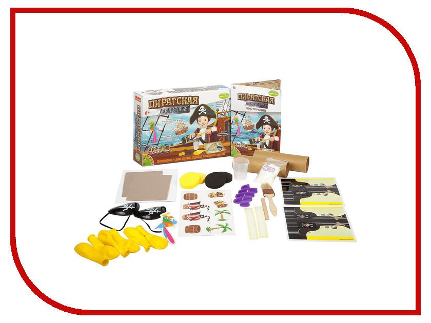 Игра Bondibon Науки с Буки Лаборатория пиратов ВВ2019 игра bondibon науки с буки фабрика мороженого 1190