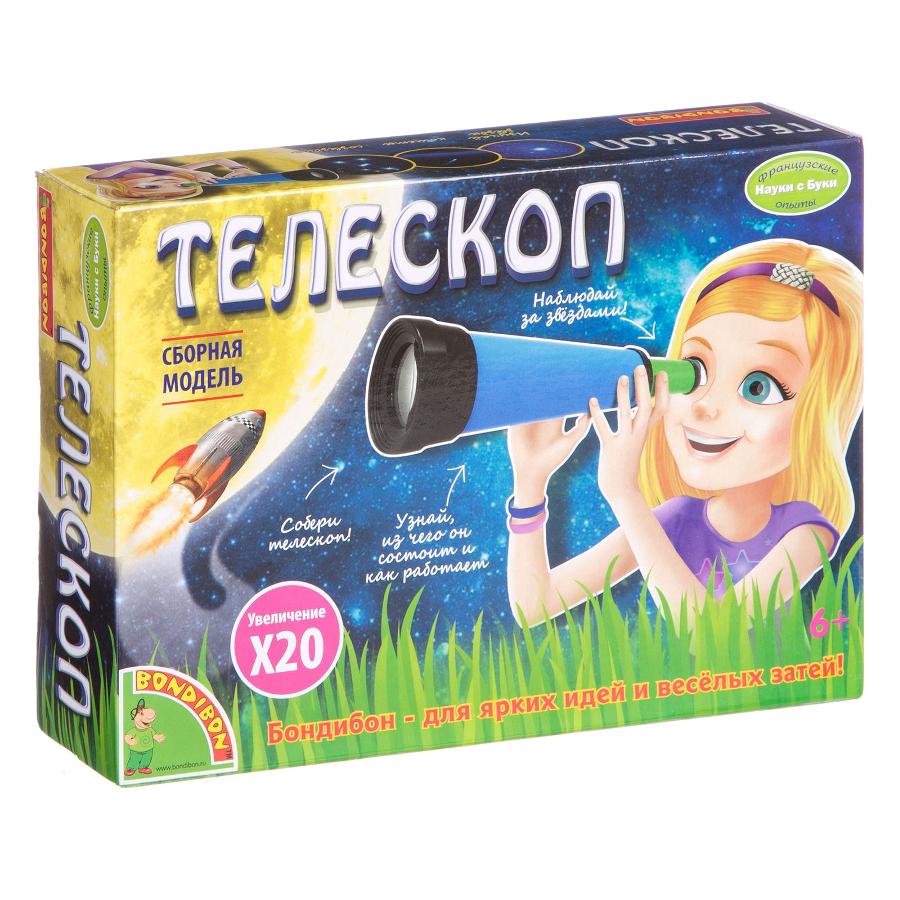Игра Bondibon Науки с Буки Телескоп ВВ1682