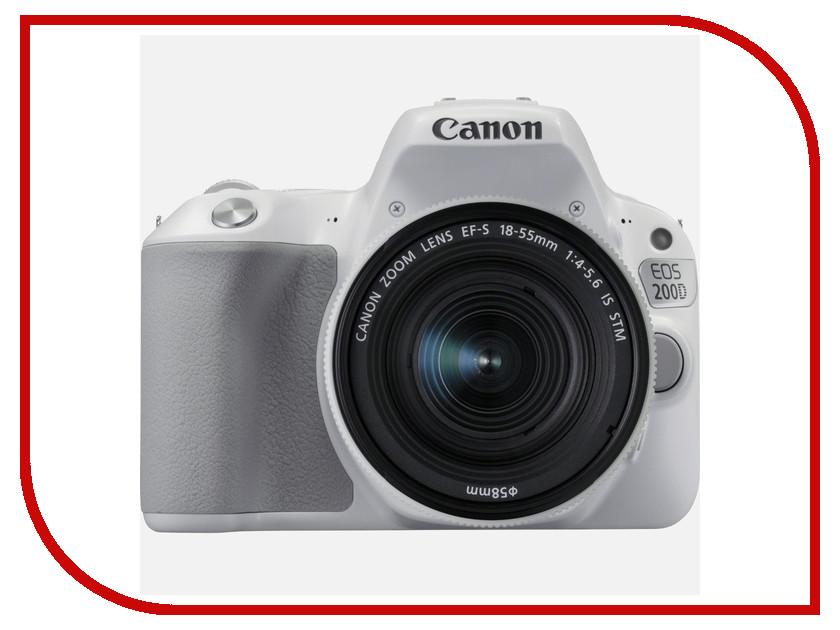 Фотоаппарат Canon EOS 200D Body White аккумулятор relato lp e8 для canon eos 550d eos 600d eos 650d eos 700d rebel t2i rebel t3i