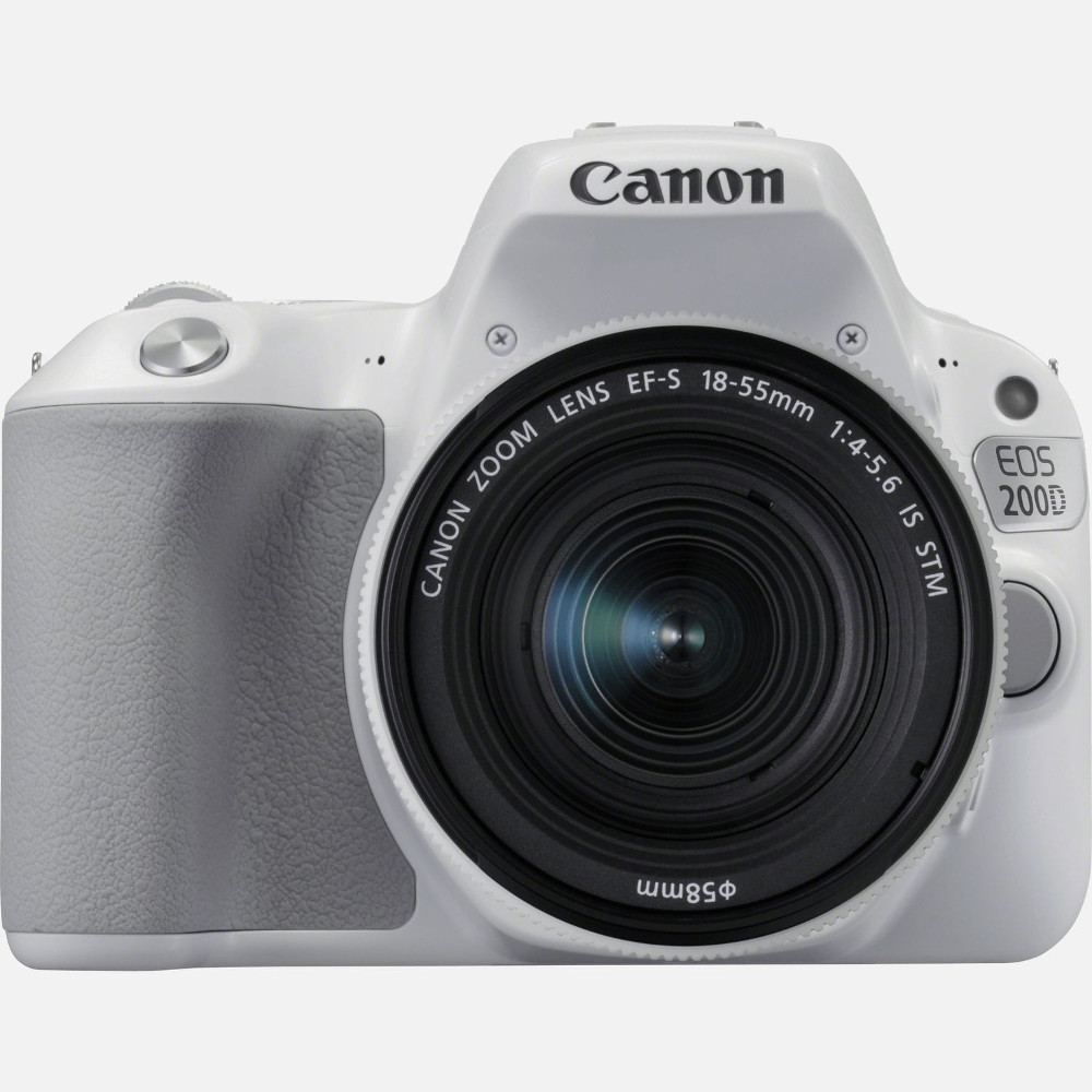 Фотоаппарат Canon EOS 200D Body White зеркальный фотоаппарат canon eos 70d body