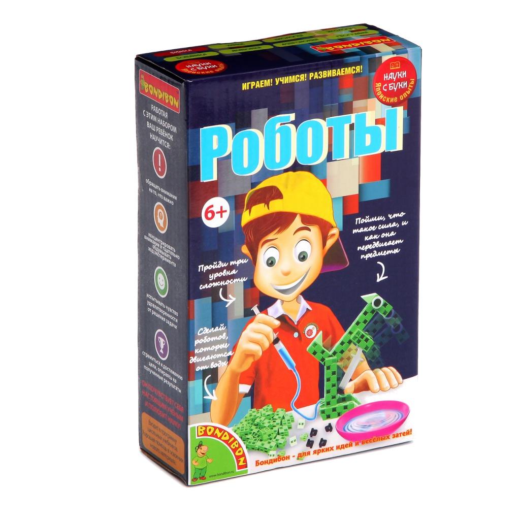 Игра Bondibon Науки с Буки Роботы ВВ1180