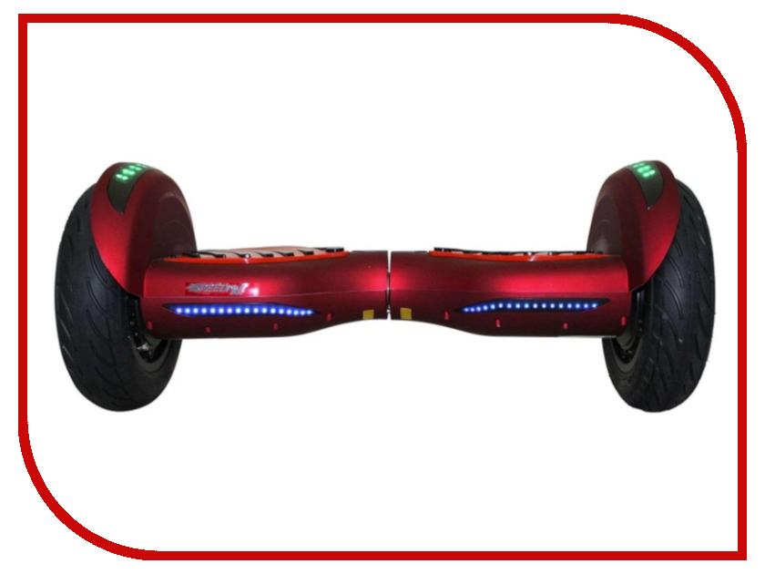 Гироскутер SpeedRoll Premium Roadster LED 08LAPP с самобалансировкой Red