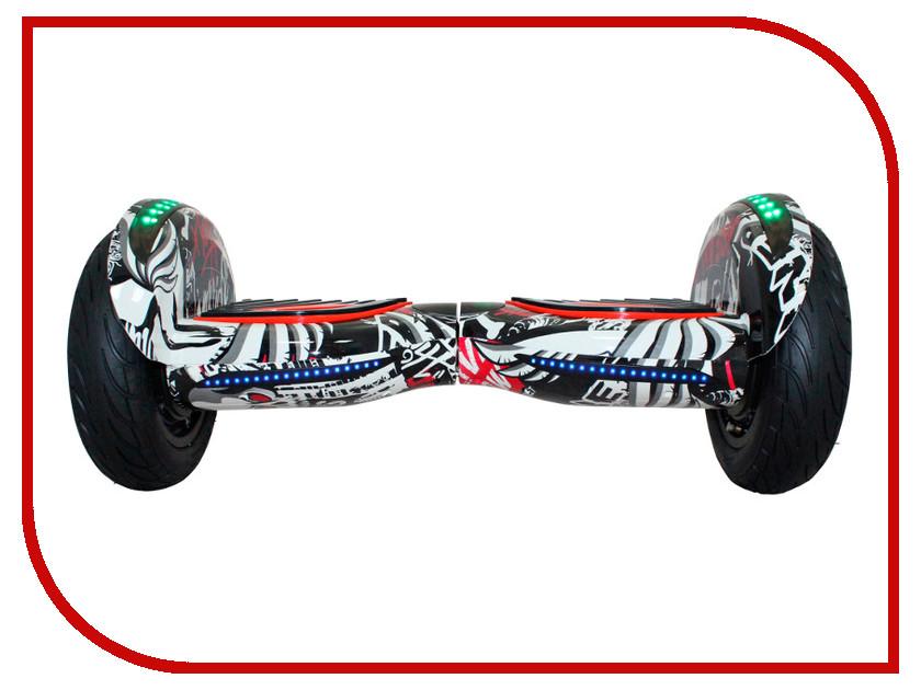 Гироскутер SpeedRoll Premium Roadster LED 08LAPP с самобалансировкой Skull