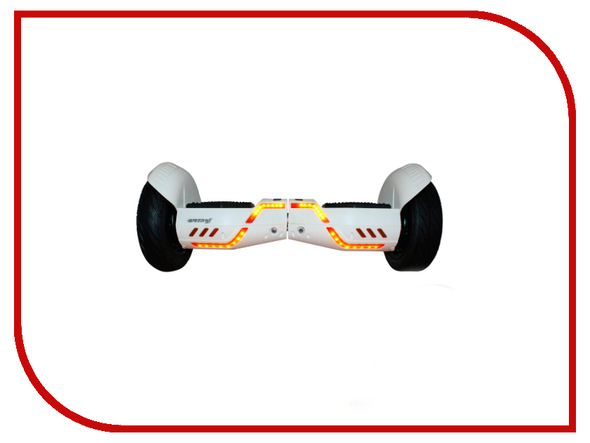 Гироскутер SpeedRoll Rover 15APP с самобалансировкой White