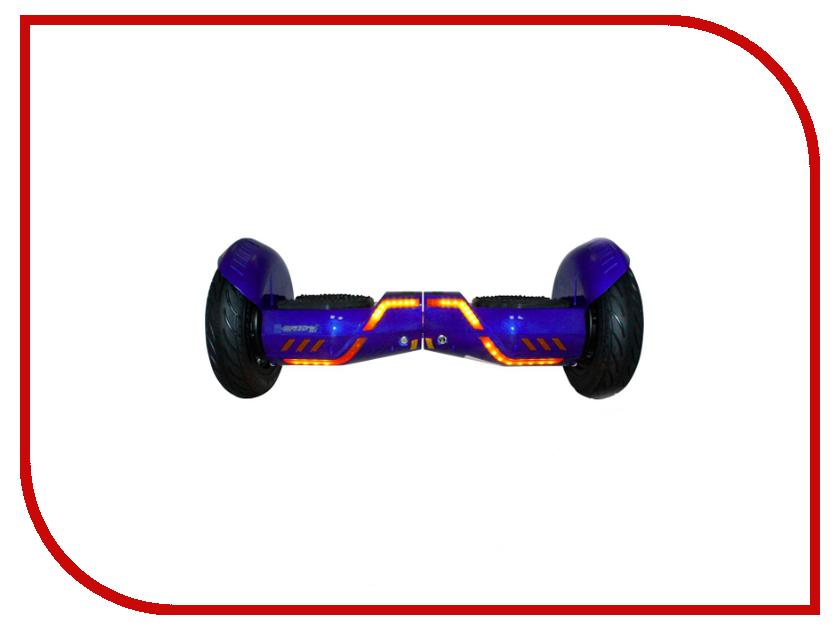 Гироскутер SpeedRoll Rover 15APP с самобалансировкой Blue