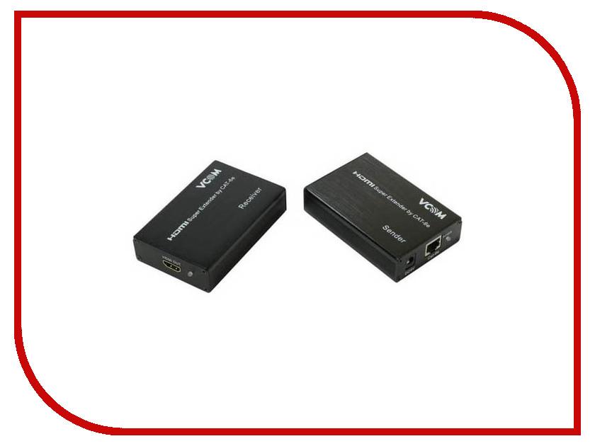 Аксессуар VCOM Удлинитель HDMI 60m DD471 аксессуар palmexx удлинитель dvi до 60m black px ext dvi 60m