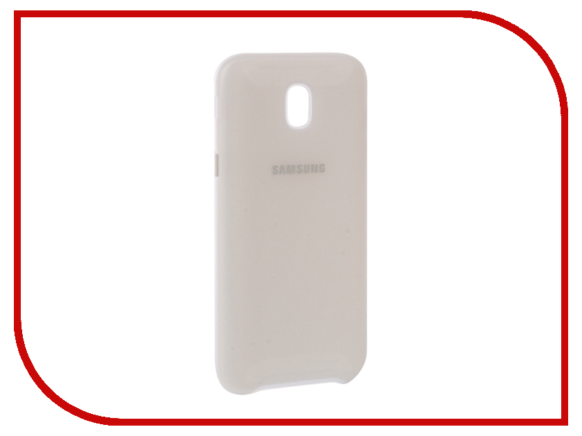 Аксессуар Чехол Samsung Galaxy J5 2017 Dual Layer Cover White EF-PJ530CWEGRU samsung core 2 dual