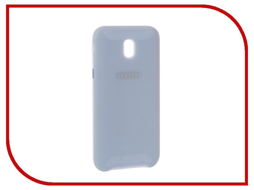 Аксессуар Чехол Samsung Galaxy J5 2017 Dual Layer Cover Light Blue EF-PJ530CLEGRU 803 001 514 021 тонкая