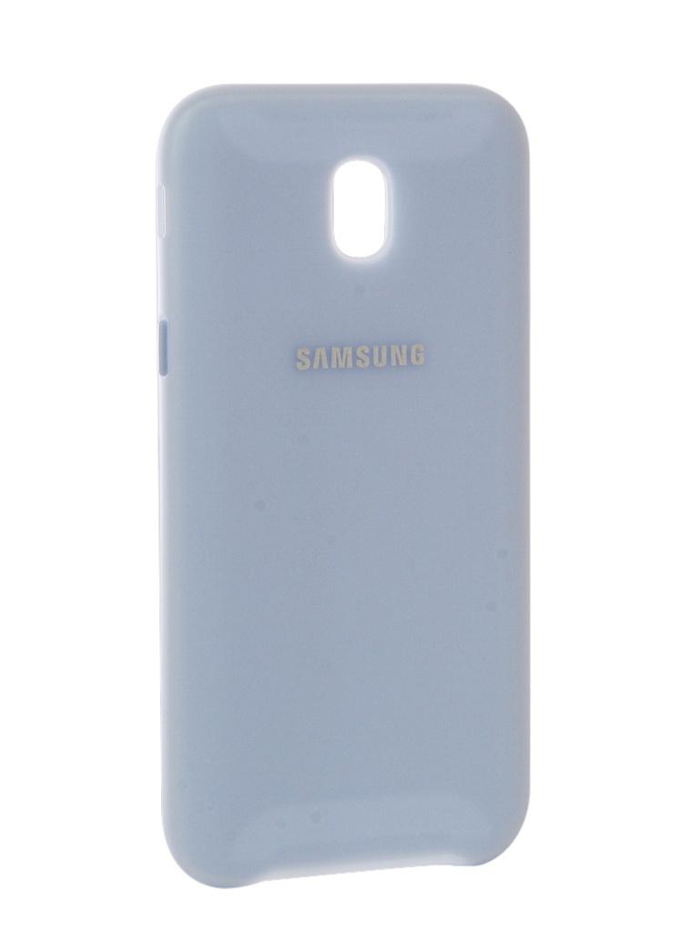 Аксессуар Чехол Samsung Galaxy J5 2017 Dual Layer Cover Light Blue EF-PJ530CLEGRU