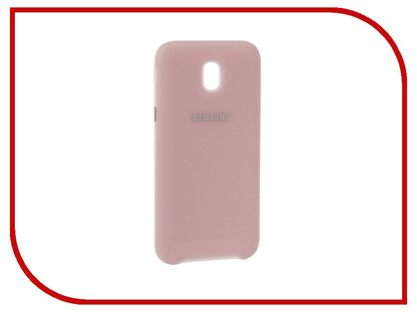 Аксессуар Чехол Samsung Galaxy J7 2017 Dual Layer Cover Pink EF-PJ730CPEGRU аксессуар чехол samsung galaxy j7 2017 sm j730f wallet cover gold ef wj730cfegru