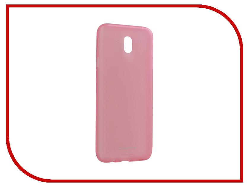 для Samsung EF-AJ730TPEGRU  Аксессуар Чехол Samsung Galaxy J7 2017 Jelly Cover Pink EF-AJ730TPEGRU