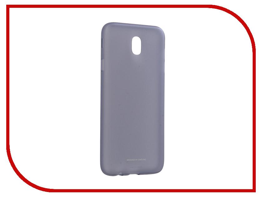 Аксессуар Чехол Samsung Galaxy J7 2017 Jelly Cover Light Blue EF-AJ730TLEGRU аксессуар чехол samsung galaxy j7 2017 sm j730f wallet cover gold ef wj730cfegru