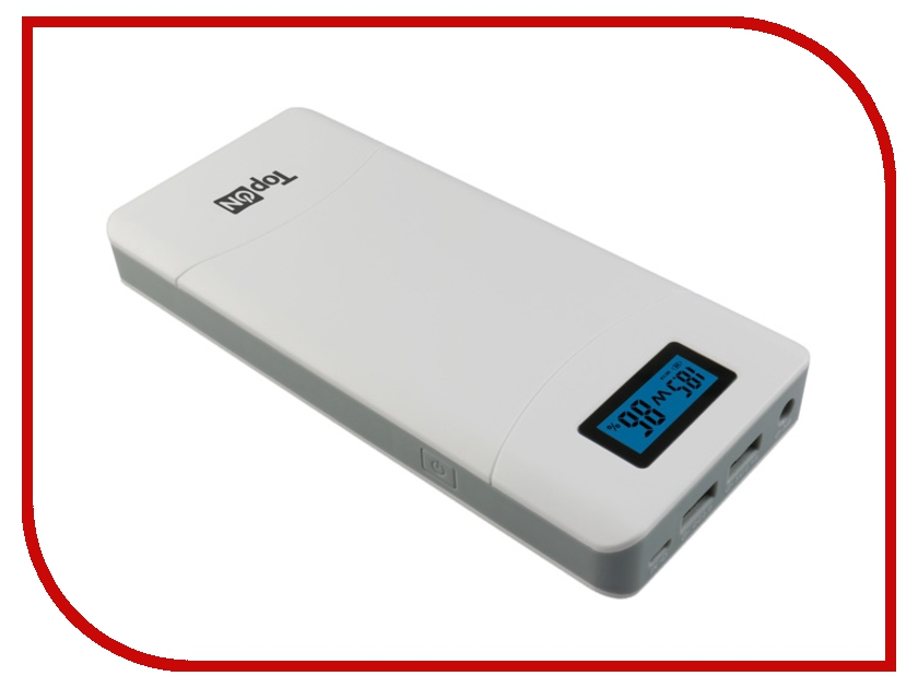 Аккумулятор TopON TOP-T72/W 3.7V 18000mAh White