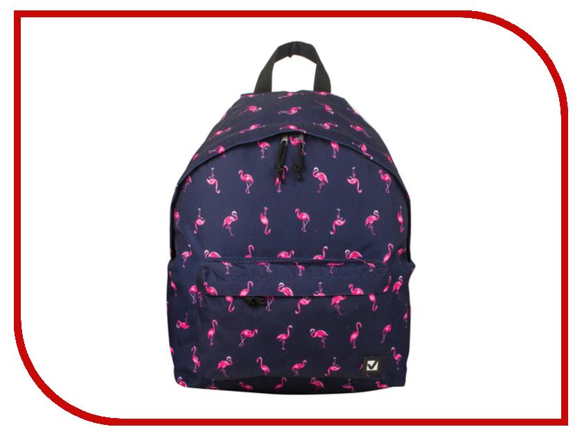 Рюкзак Brauberg Фламинго Blue 226404 brauberg brauberg рюкзак универсальный омега розовый