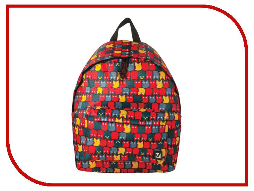 Рюкзак BRAUBERG Совята Red 226403