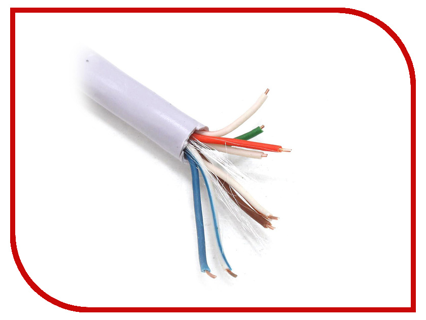 Сетевой кабель Telecom Ultra Base UTP cat.5e flight tus 35 rd