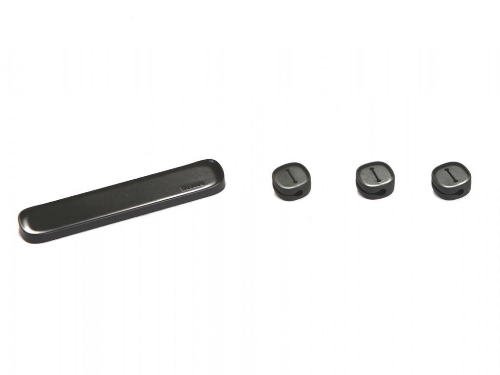 Baseus Cross Peas Cable Clip Black ACTDJ-01 904362