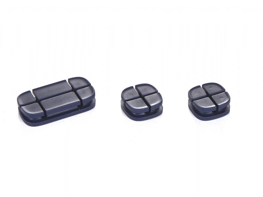Baseus Cross Peas Cable Clip Blue ACTDJ-03 904361