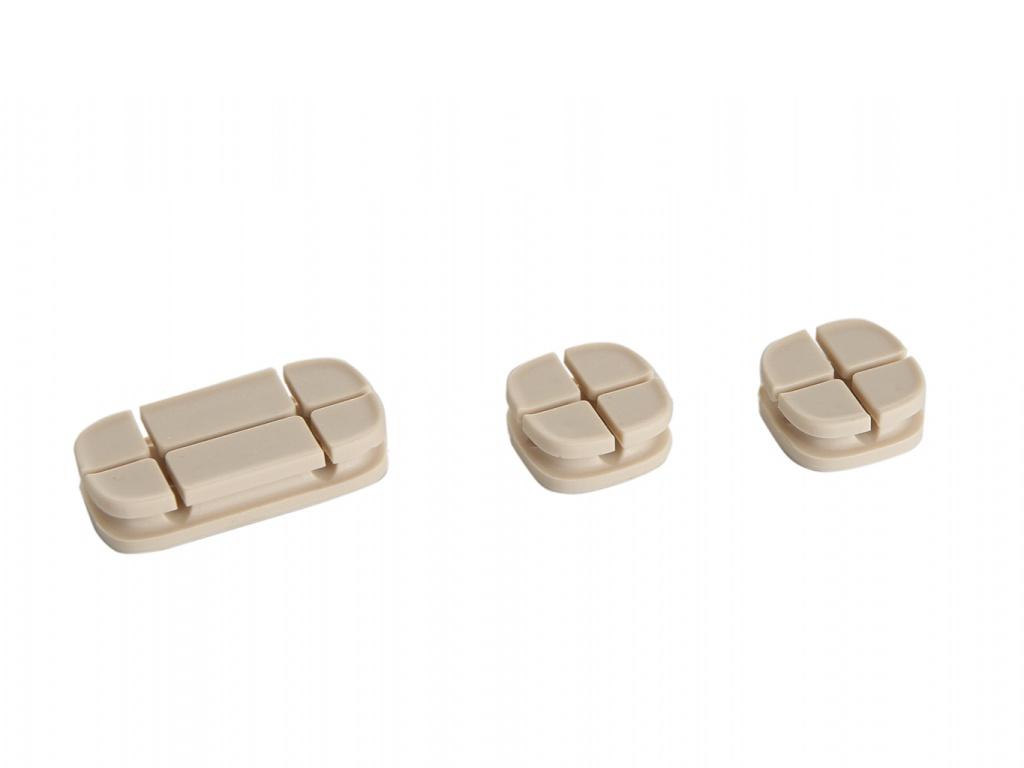 Baseus Cross Peas Cable Clip Oak ACTDJ-0K 904364