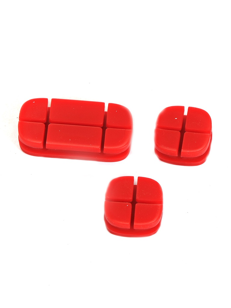 Baseus Cross Peas Cable Clip Red ACTDJ-09 904363
