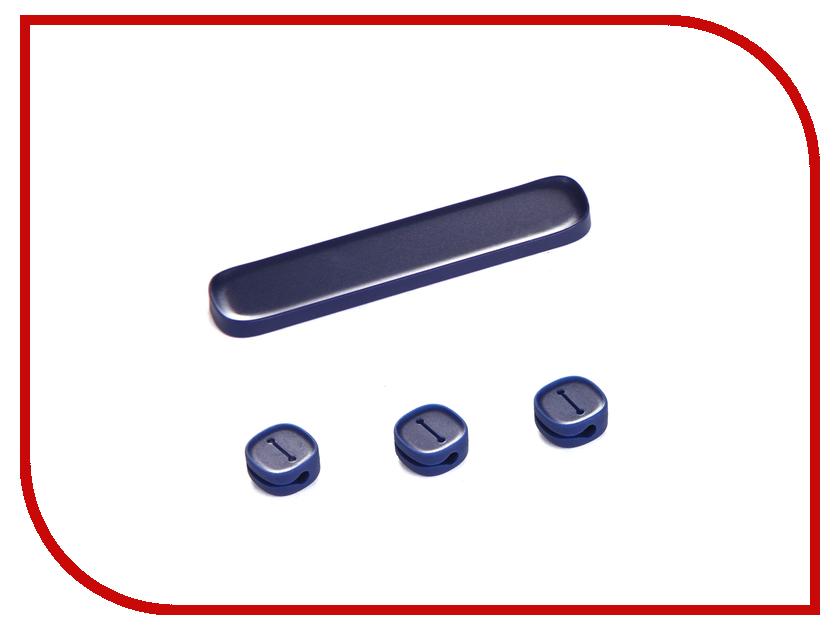 Аксессуар Baseus Peas Cable Clip Blue ACWDJ-03