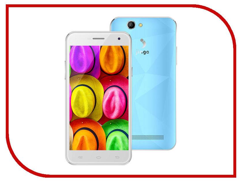 Сотовый телефон Jinga Fresh 4G Light Blue