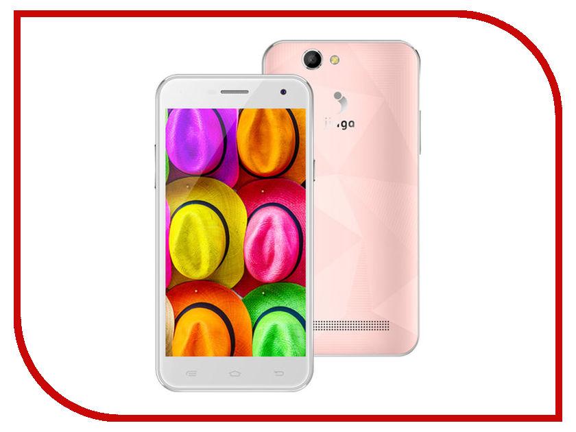 Сотовый телефон Jinga Fresh 4G Pink мобильный телефон jinga fresh оранжевый