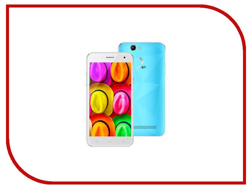 Сотовый телефон Jinga Fresh Light Blue мобильный телефон jinga fresh оранжевый