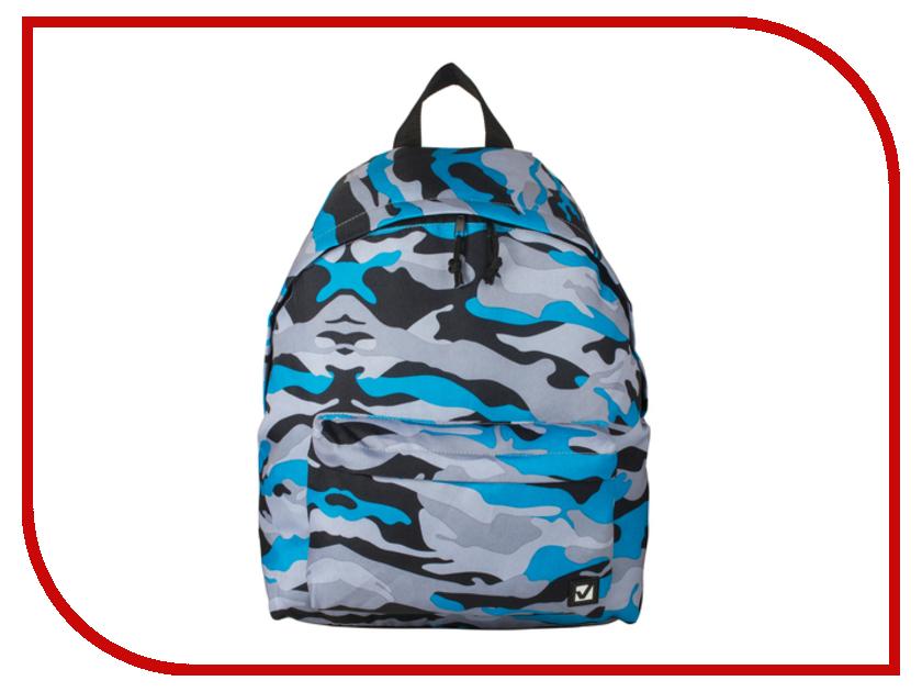 Рюкзак Brauberg Blue Camouflage 226407 brauberg brauberg рюкзак урбан голубой