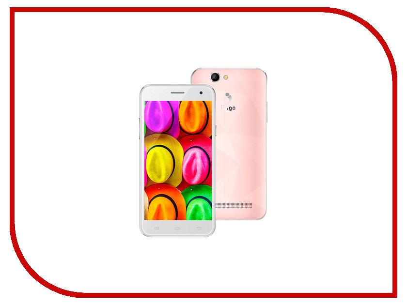 Сотовый телефон Jinga Fresh Pink мобильный телефон jinga fresh оранжевый