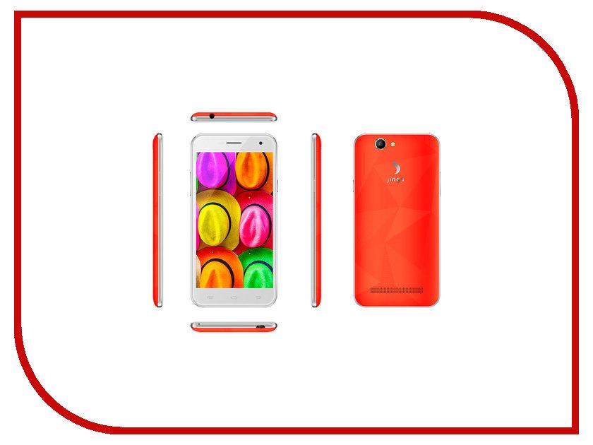 Сотовый телефон Jinga Fresh Orange сотовый телефон jinga basco l3 black