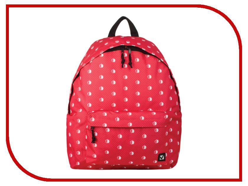 Рюкзак BRAUBERG Яблоки Red 226412