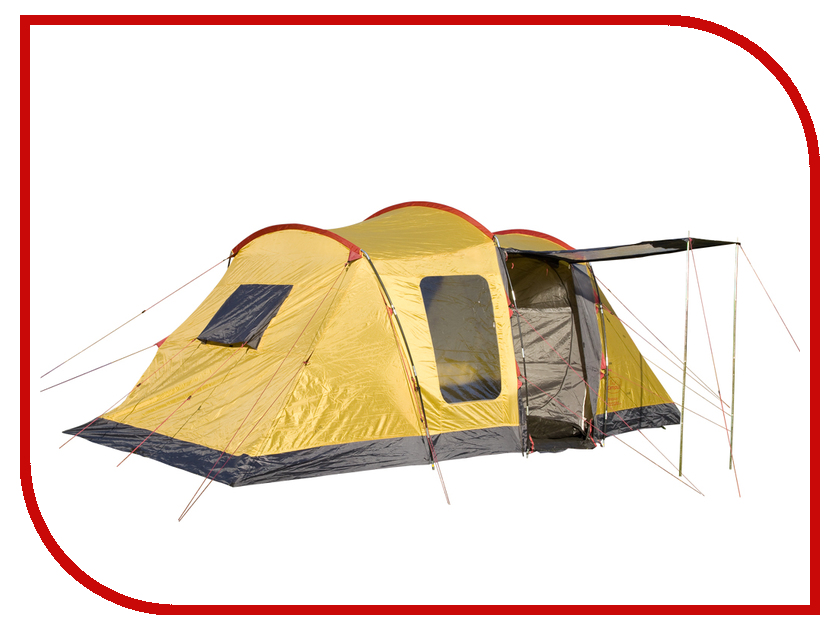 Палатка Campus Bordeaux 4 Beige-Graphite-Yellow