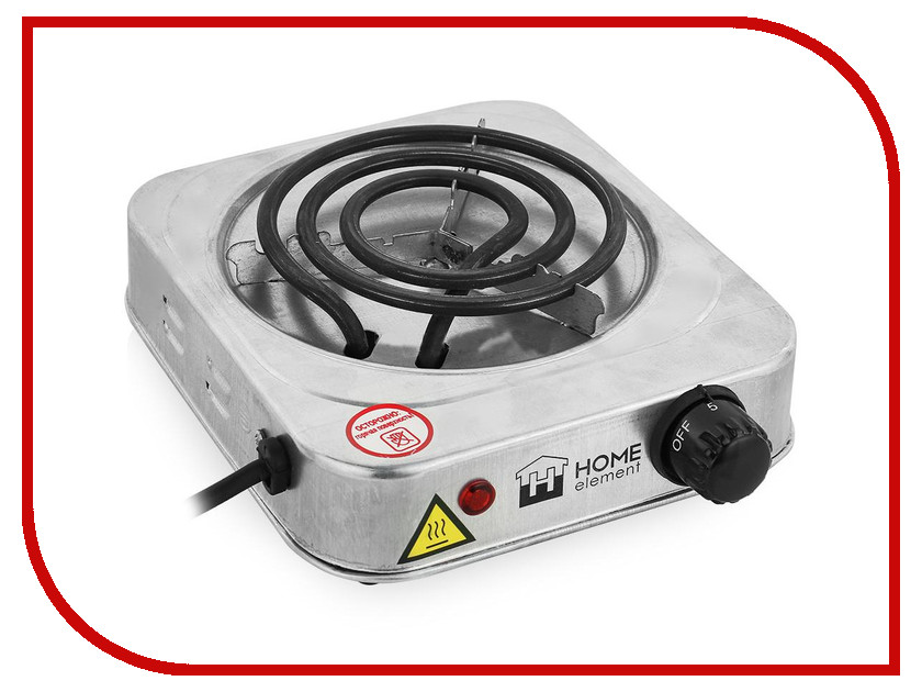 Плита Home-Element HE-HP703 Metallic