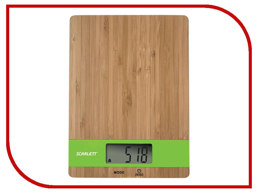 Весы Scarlett SC-KS57P01 Green Bamboo scarlett sc fd421002