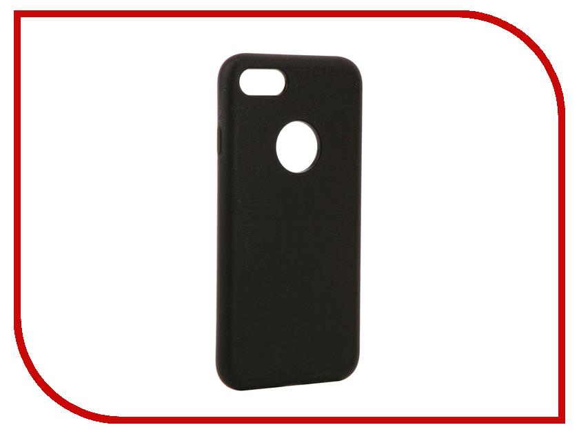 все цены на  Аксессуар Чехол Rock Touch Series Silicone для iPhone 7 RPC1153 Black  онлайн